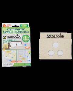 Nanoclo2® stoppt Keime, Viren, Schimmelsporen & Gerüche in Räumen - Aufsteller für 3 Monate
