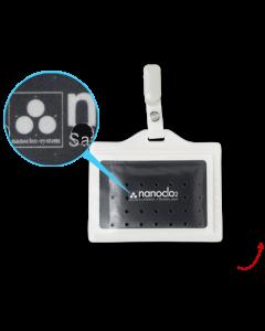 Nanoclo2® Anhängesystem für unterwegs - stoppt Keime, Viren, Bakterien auf Reisen